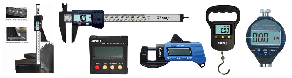 Digital Measuring Instrument : Digital measuring instrument
